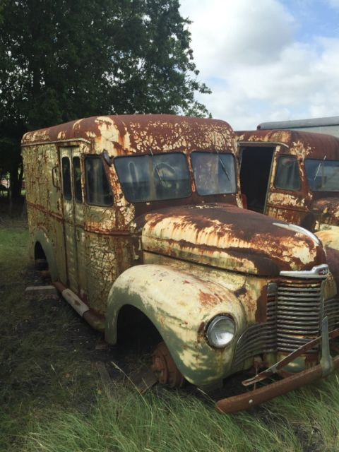 1941 International Harvester KB3.  1 ton