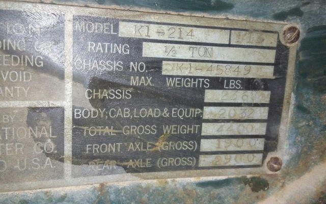 1941 international truck rat rod project hot rod for sale