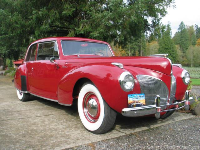 1941 Lincoln Continental Coupe. BEAUTIFUL! Tour Ready. See VIDEO