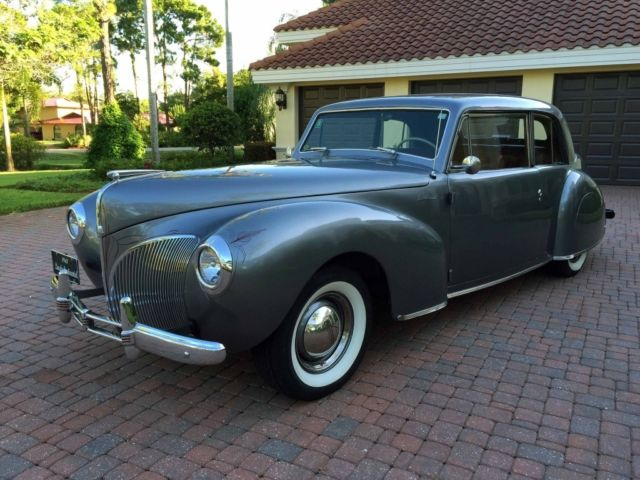 1941 lincoln continental coupe resto mod v8 automatic great driver very clean for sale photos. Black Bedroom Furniture Sets. Home Design Ideas