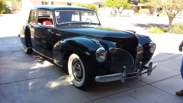 1941 Lincoln Continental Coupe