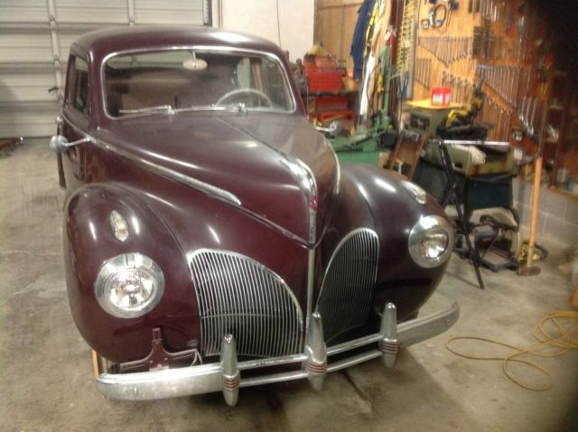 1941 Lincoln Zephyr Coupe W   Lincoln V12 For Sale  Photos