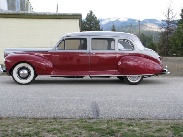 1941 lincoln zephyr resto mod gorgeous for sale photos technical specifications. Black Bedroom Furniture Sets. Home Design Ideas