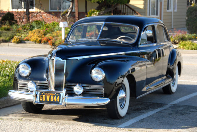 1941 Packard Clipper Owned by George Jones