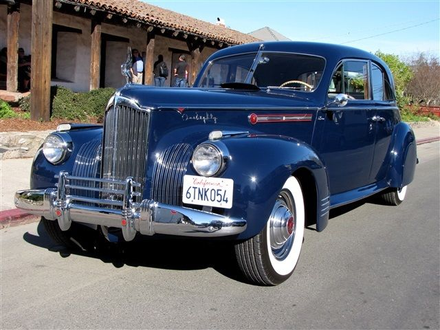 1941 Packard One-Eighty LeBaron Sport Brougham
