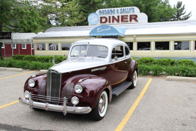 1941 Packard Restomod Coupe Restomod Coupe. Looks stock. $140K build! VIDEO.