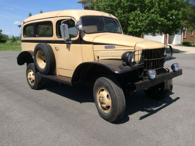 1941 Wc 10 Carryall Power Wagon 4x4 For Sale Photos Technical