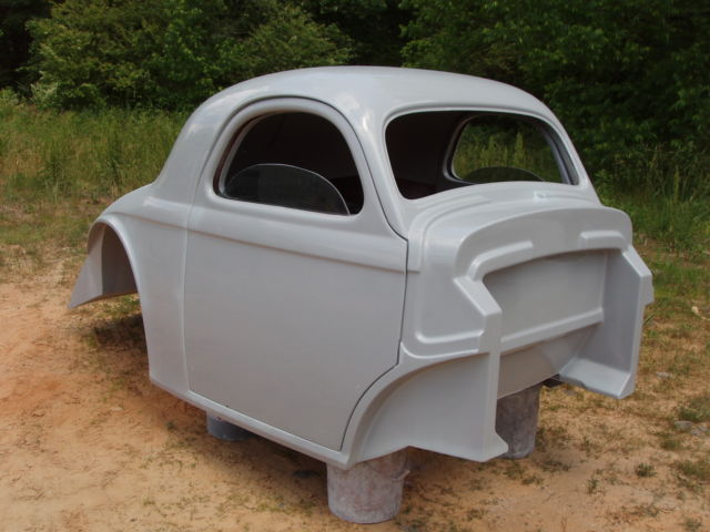 1941 Willys new fiberglass body, old school gasser project for sale