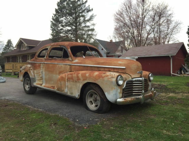 1942 CHEVROLET MASTER DELUXE COUPE RARE MUST SEE for sale