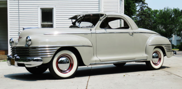 1942 Other Makes 1942 Chrysler Windsor Coupe
