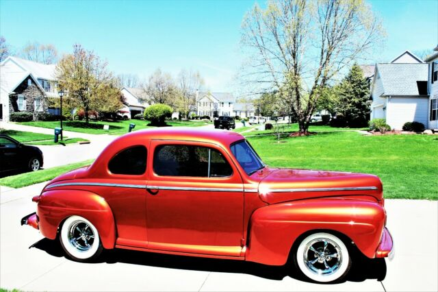 1942 FORD COUPE RESTOMOD HOT STREET ROD not 1940 1937 1946
