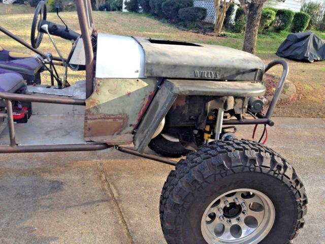 Buggy Jeep Willys – mechaniker