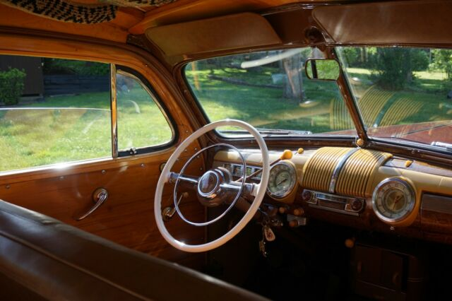 1942 Burgundy Ford Other with Tan interior