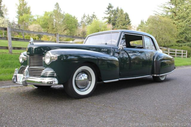 1942 Lincoln Continental Coupe. CCCA Nat'l First Place. SEE VIDEO.