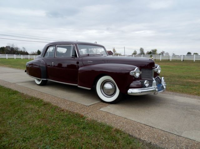 1942 Lincoln Continental Ford