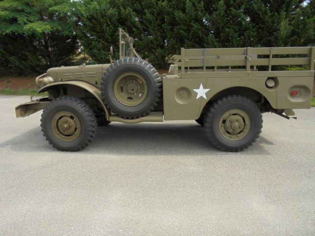 1942 Dodge WC55 Weapons Carrier 55
