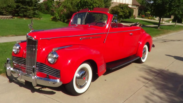 1942 Packard 110 convertible coupe