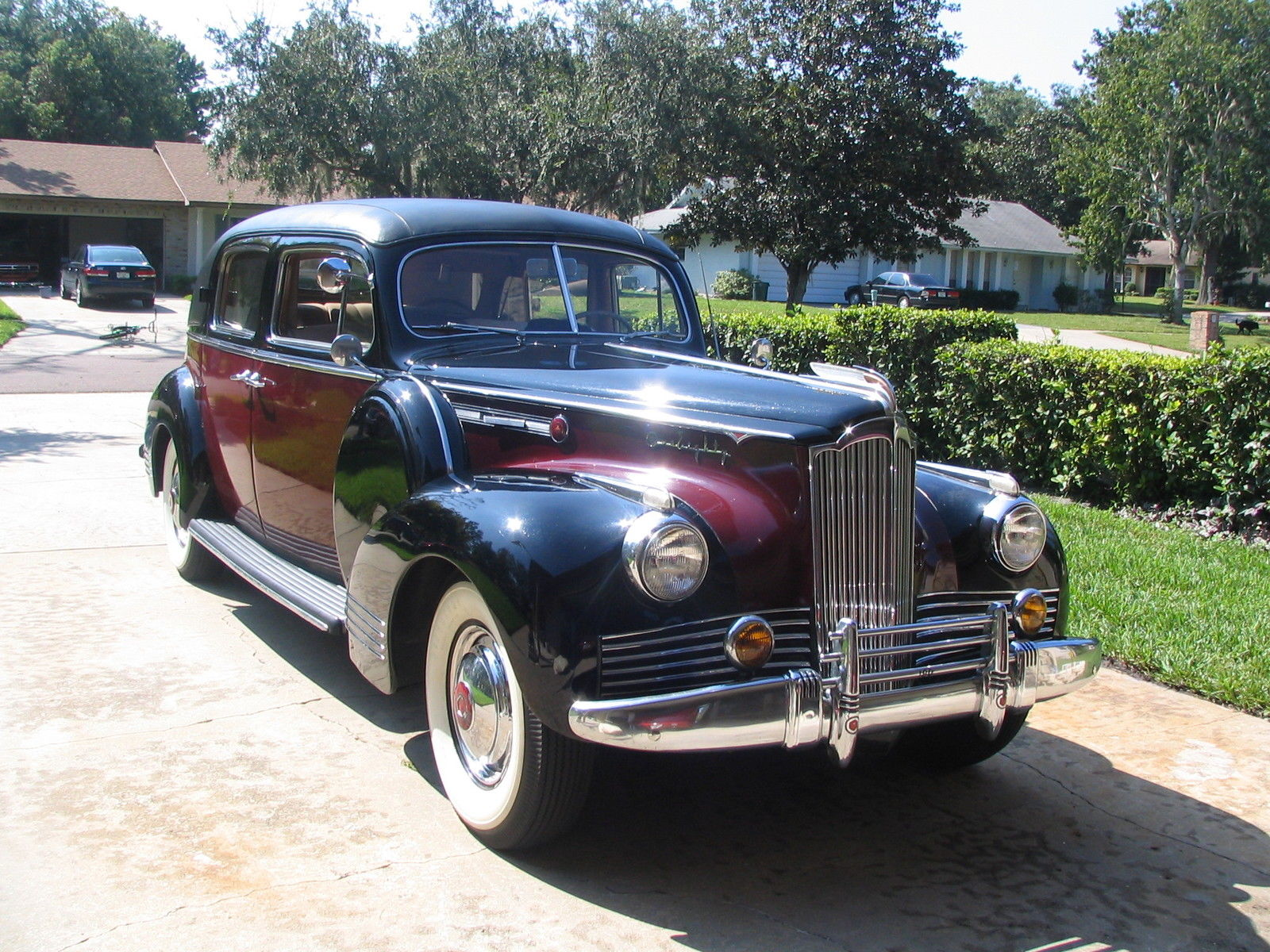 1942 Packard Model 1532 Formal Sedan 6 Passenger