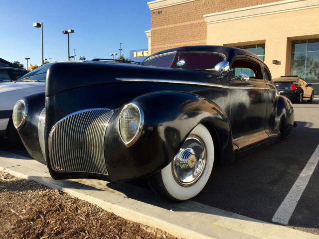1942 Plymouth Lincoln Zephyr Coupe Chopped Bagged For