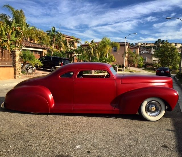 1942 Plymouth/Lincoln Zephyr Coupe Chopped, Bagged Kustom