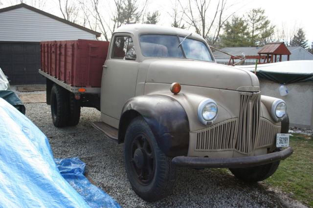 1942 Studebaker M 16 Grain Dump Truck Rare For Sale
