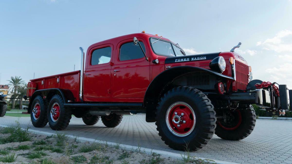 1943 Dodge Power Wagon Quad Cab 6x6 For Sale Photos Technical Specifications Description