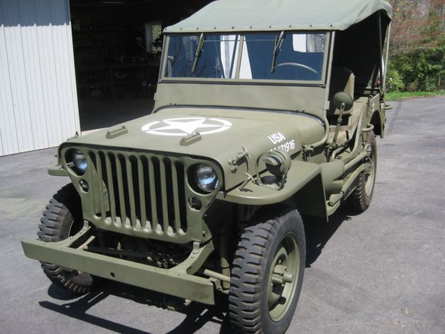 1943 Willys Mb Wwii Jeep For Sale Photos Technical Specifications