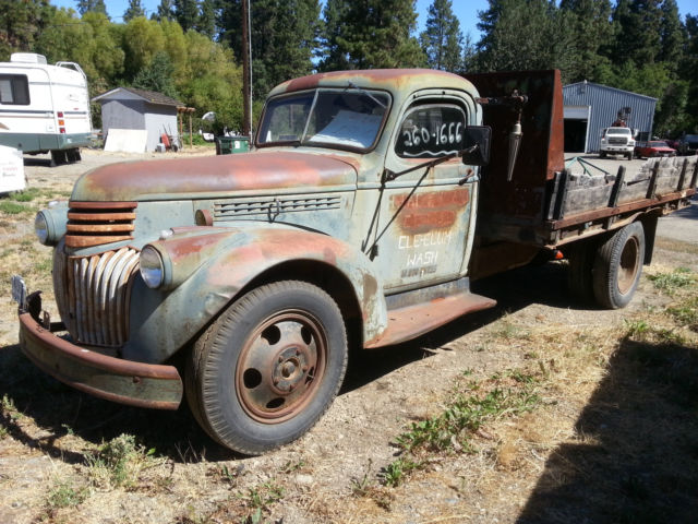 1944 Chevrolet Dump Truck Rare War Year Clear Title From