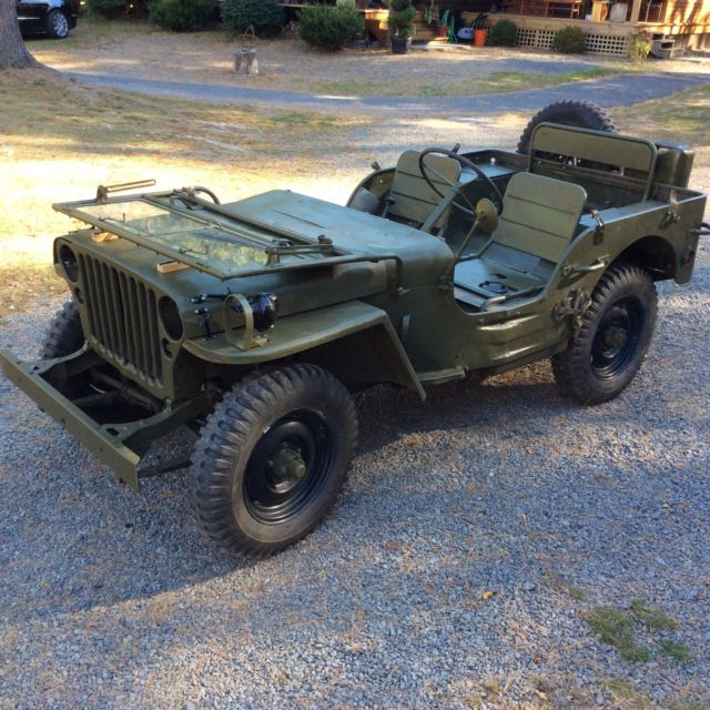 Willys Jeep Price >> 1944 WILLYS MB military jeep GPW for sale: photos, technical specifications, description