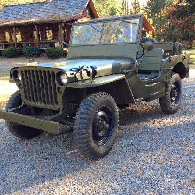 1944 willys mb military jeep gpw for sale photos technical specifications description. Black Bedroom Furniture Sets. Home Design Ideas