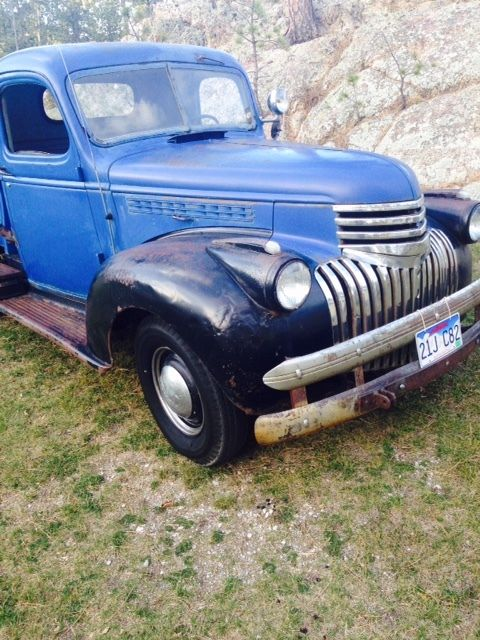 Chevrolet Ton Pickup Wwii Half Ton Chevy Truck Runs Drives on Used Chevy 6 Cylinder Engine