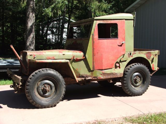 1945 WILLYS JEEP CJ2A PTO CAPSTAN WINCH for sale: photos ...