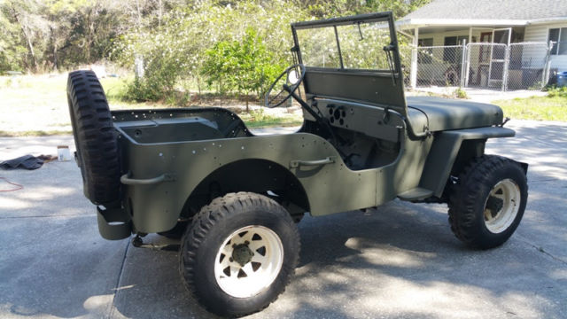 1945 Willys Mb Jeep For Sale Photos Technical