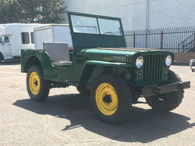 1946 Willys Jeep CJ-2A Ready to Drive or Restore