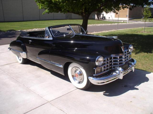 1946 Cadillac 1946 Cadillac Convertible Coupe Model 6267D Convertible Coupe