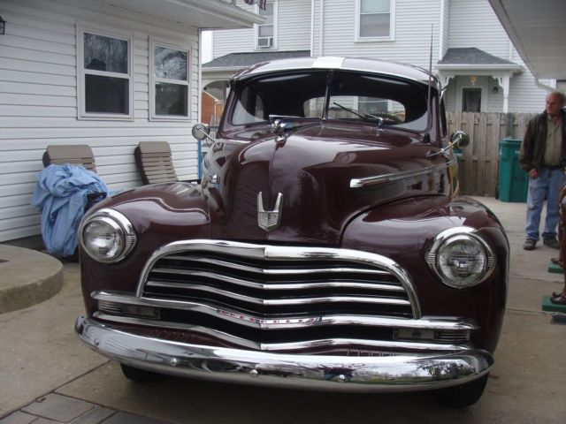 1946 Chevrolet Stylemaster Deluxe Woodie