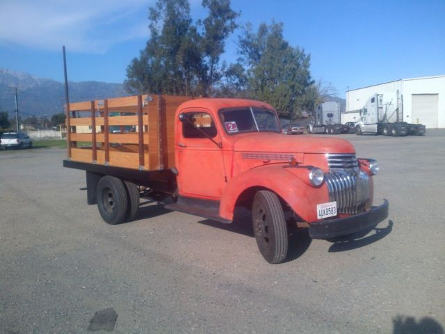 1946 chevy 1 ton truck for sale photos technical specifications description. Black Bedroom Furniture Sets. Home Design Ideas