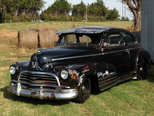 1946 chevy fleetline rat rod hot rod patina for sale for 1946 chevy 4 door sedan