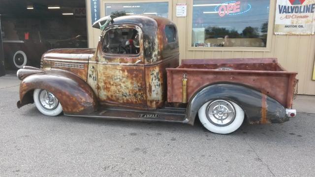 1946 chevy rat rod pickup 1 1946 gmc cc 101 stepside pickup \