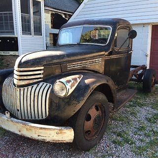 1946 chevy truck barn find patina for sale photos technical specifications description. Black Bedroom Furniture Sets. Home Design Ideas