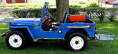 1946 Willys CJ 2A