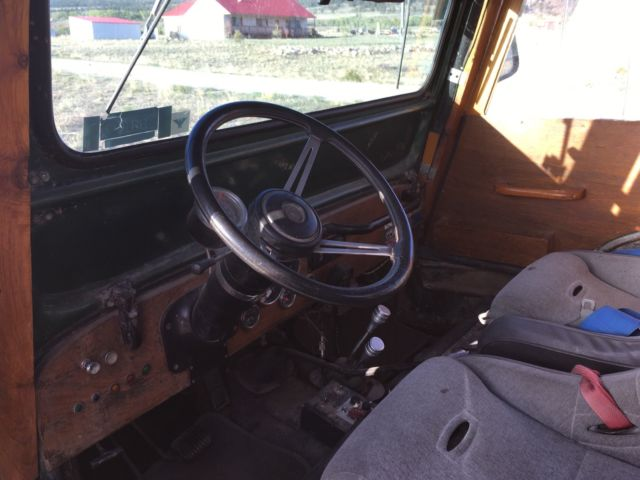 1946 CJ2A Rock Crawling Woody Willys Jeep for sale: photos