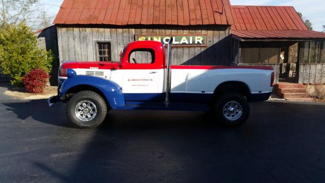 1946 Dodge Truck 4x4 Cummins Diesel Power Wagon for sale ...