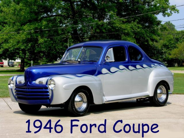 1946 Ford Business Coupe Hot Street Rod Custom Super Deluxe 46 For