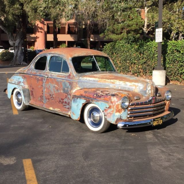 1946 Ford Business Coupe Rat Rod Hot Rod For Sale Photos