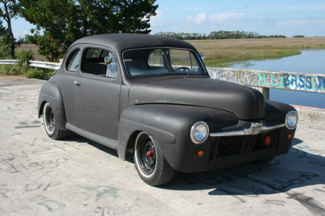 1946 Ford coupe hotrod ratrod