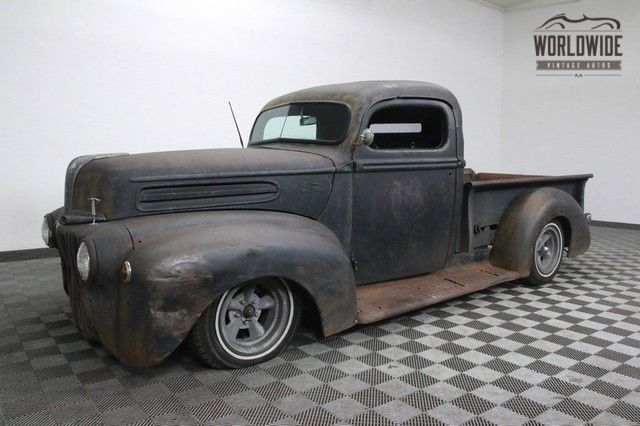 1946 Ford F1 PICKUP RATROD. CHOPPED. V6! MANY UPGRADES!
