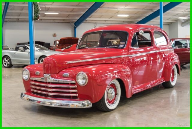 1946 Ford Tudor Sedan 1946 Ford Super Deluxe Tudor Sedan Steel Body 46 350 V8 Auto