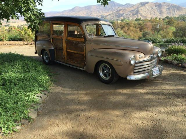 1946 ford woody station wagon for sale photos technical. Black Bedroom Furniture Sets. Home Design Ideas