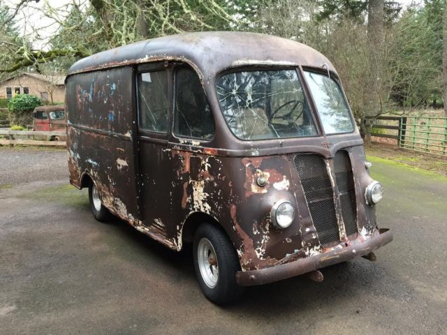 1946 international harvester k1m metro van divco milk truck patina rat rod for sale photos. Black Bedroom Furniture Sets. Home Design Ideas